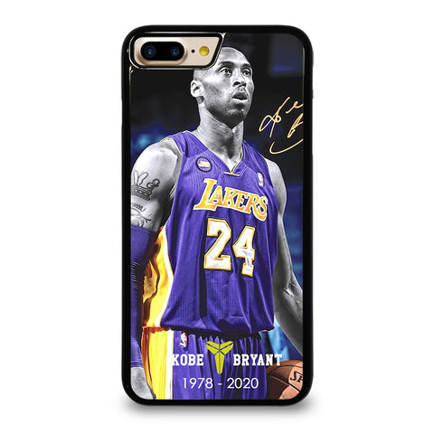 KOBE BRYANT 1978-2020 LAKERS iPhone 7 / 8 Plus case