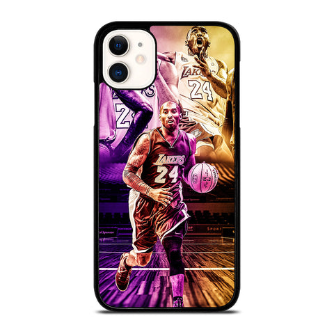 KOBE BRYANT LA LAKERS iPhone 11 Case Cover