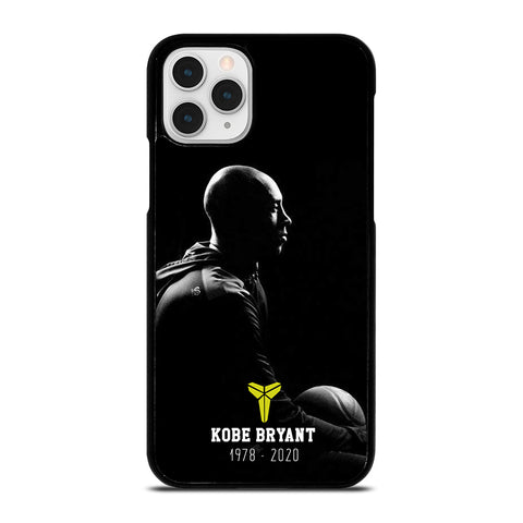 KOBE BRYANT RIP BLACK MAMBA iPhone 11 Pro Case Cover