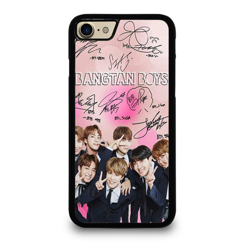 KPOP BTS LOVE PINK SIGNATURE iPhone 7 / 8 Case Cover