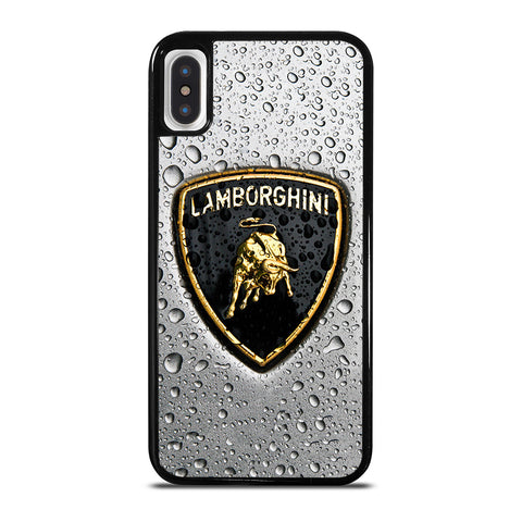 LAMBORGHINI EMBLEM iPhone X / XS Case Cover