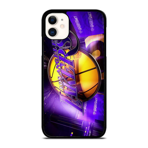 LA LAKERS 3D LOGO iPhone 11 Case Cover