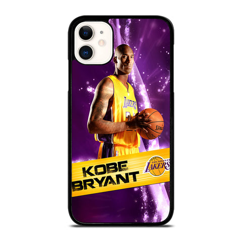 LA LAKERS KOBE BRYANT NBA iPhone 11 Case Cover