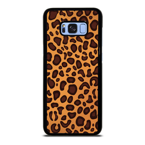 LEAPARD BROWN PATTERN Samsung Galaxy S8 Plus Case Cover