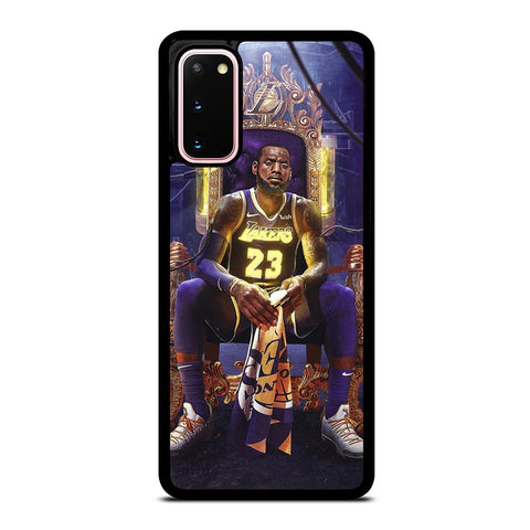 LEBRON JAMES LAKERS KING Samsung Galaxy S20 Case Cover