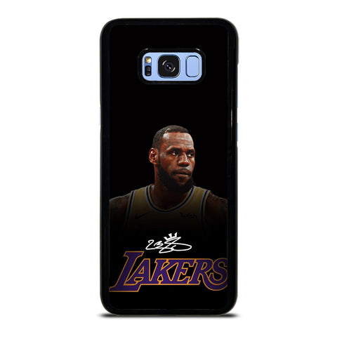 LEBRON JAMES LA LAKERS AUTOGRAPH Samsung Galaxy S8 Plus Case Cover