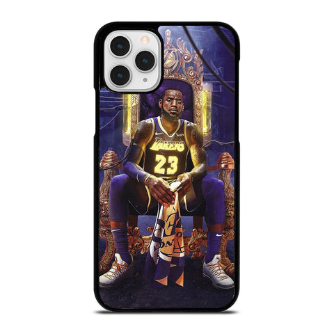 LEBRON JAMES LAKERS KING iPhone 11 Pro Case Cover