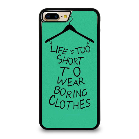 LIFE IS TOO SHORT QUOTE iPhone 7 / 8 Plus Case Cover