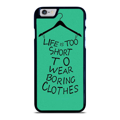 LIFE IS TOO SHORT QUOTE iPhone 6 / 6S Case Cover