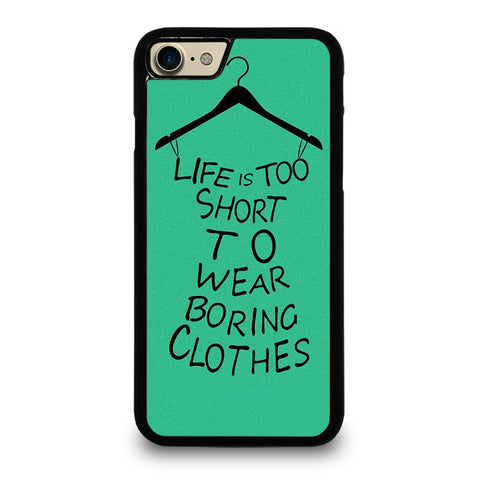 LIFE IS TOO SHORT QUOTE iPhone 7 / 8 Case Cover