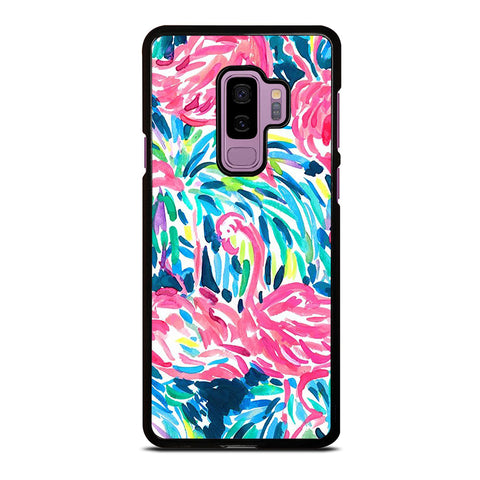 LILLY PULITZER FLAMINGO Samsung Galaxy S9 Plus Case Cover