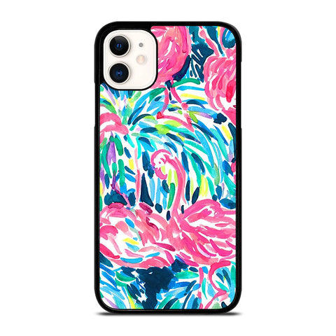 LILLY PULITZER FLAMINGO iPhone 11 Case Cover