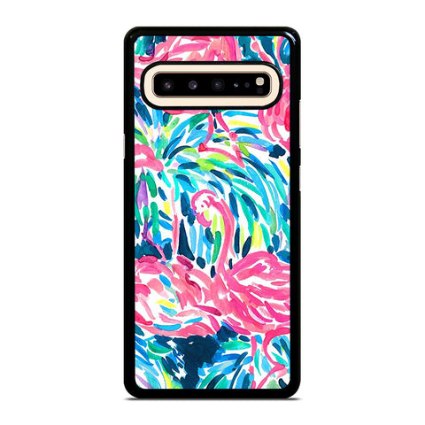 LILLY PULITZER FLAMINGO Samsung Galaxy S10 5G Case Cover