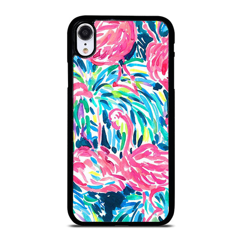 LILLY PULITZER FLAMINGO iPhone XR Case Cover