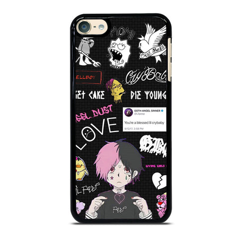 LIL PEEP COLLAGE iPod Touch 6 Case