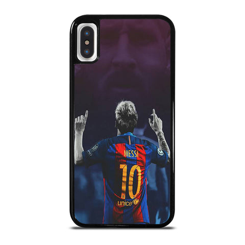 LIONEL MESSI BARCA iPhone X / XS Case Cover