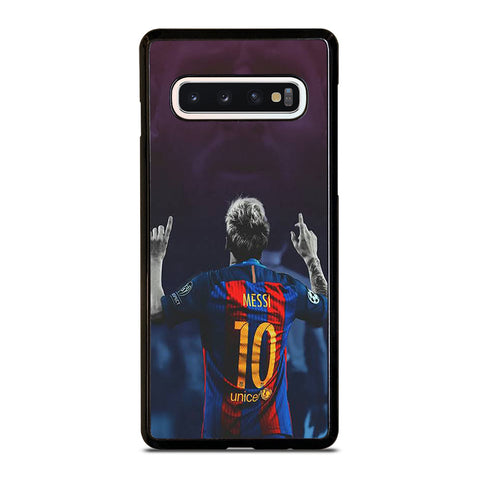 LIONEL MESSI BARCA Samsung Galaxy S10 Case Cover