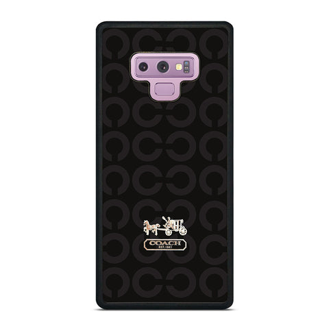 LOGO COACH NEW YORK Samsung Galaxy Note 9 Case Cover