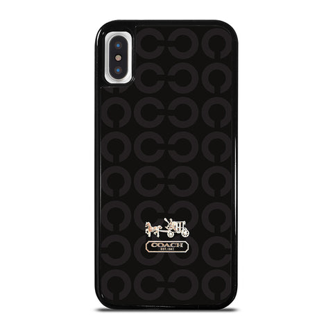 LOGO COACH NEW YORK iPhone X / XS Case Cover