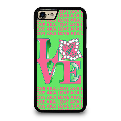 LOVE AKA PINK AND GREEN iPhone 7 / 8 Case Cover