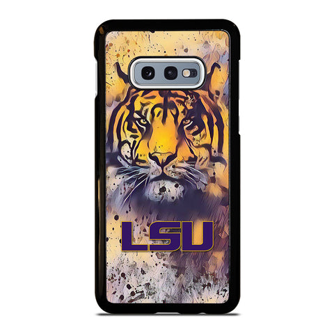 LSU TIGERS  ART LOGO Samsung Galaxy S10e Case Cover