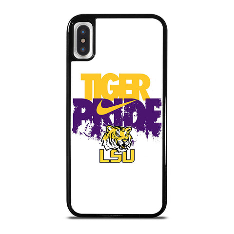 LSU TIGERS NIKE LOGO iPhone X / XS Case Cover