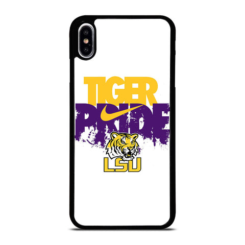 LSU TIGERS NIKE LOGO iPhone XS Max Case Cover