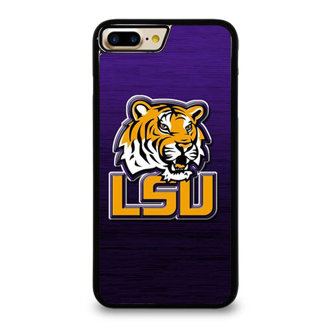 LSU TIGERS  WOODEN LOGO iPhone 7 / 8 Plus Case Cover
