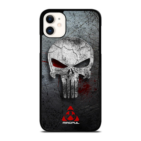 MAGPUL PUNISHER METAL LOGO iPhone 11 Case Cover