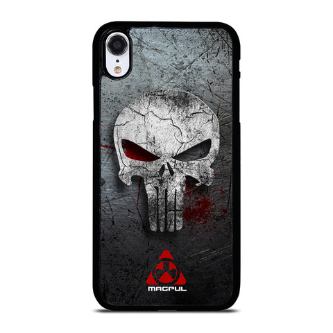 MAGPUL PUNISHER METAL LOGO iPhone XR Case Cover