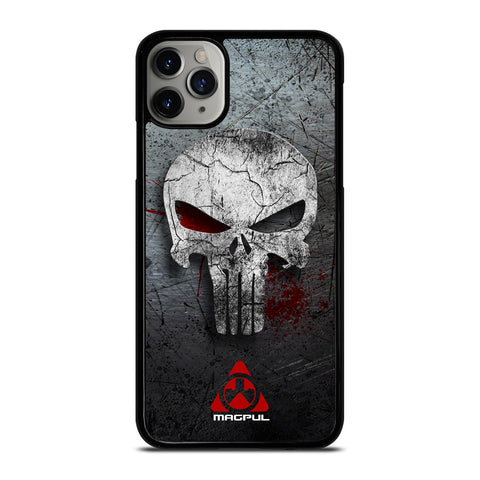 MAGPUL PUNISHER METAL LOGO iPhone 11 Pro Max Case Cover