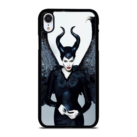 MALEFICENT ANGELINA JOLIE DISNEY iPhone XR Case Cover