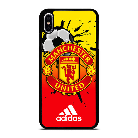 MANCHESTER UNITED FC LOGO iPhone XS Max Case Cover