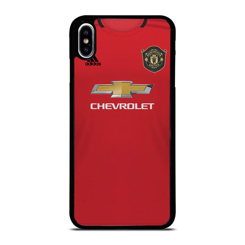 MANCHESTER UNITED NEW JERSEY iPhone XS Max Case Cover