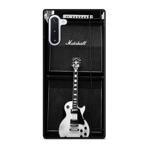 MARSHALL GUITAR AMPLIFIER Samsung Galaxy Note 10 Case Cover
