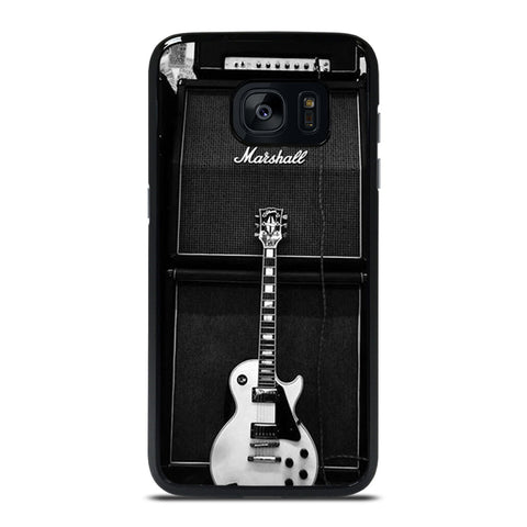 MARSHALL GUITAR AMPLIFIER Samsung Galaxy S7 Edge Case Cover