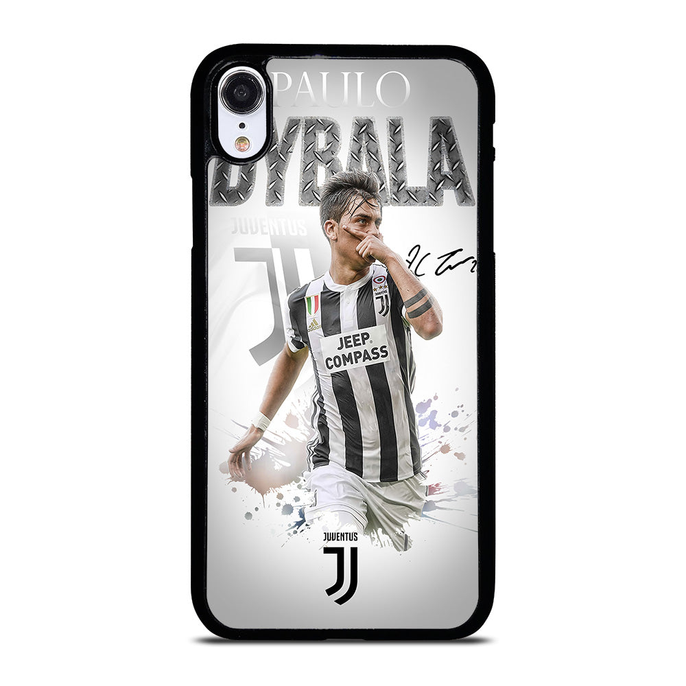 MASK PAULO DYBALA JUVENTUS FC iPhone XR Case Cover - Casesummer