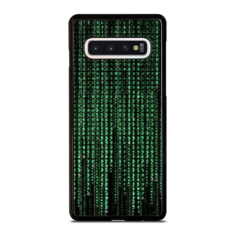 MATRIX NUMBER Samsung Galaxy S10 Case Cover