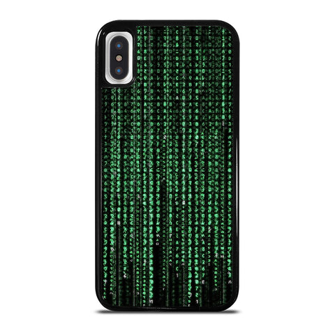 MATRIX NUMBER iPhone X / XS Case Cover