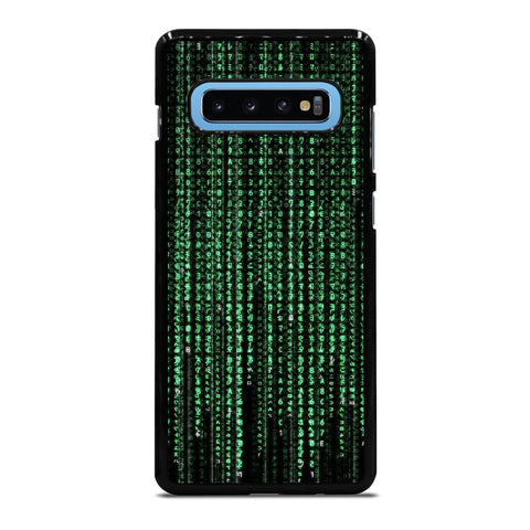 MATRIX NUMBER Samsung Galaxy S10 Plus Case Cover