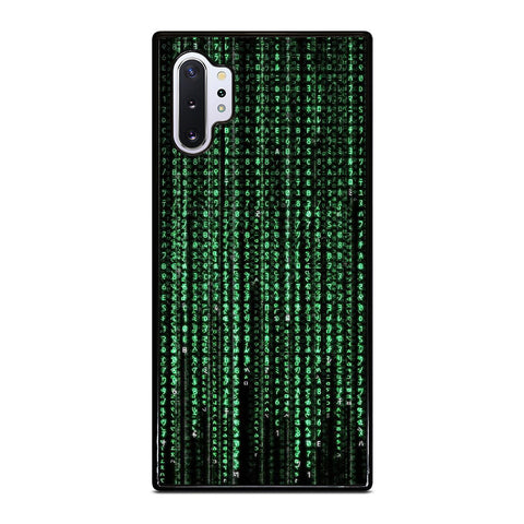 MATRIX NUMBER Samsung Galaxy Note 10 Plus Case Cover