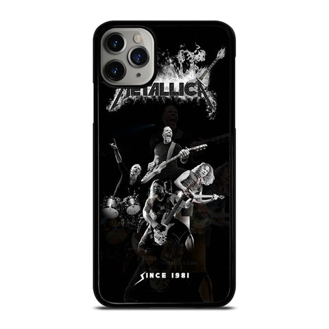 METALLICA ROCK BAND iPhone 11 Pro Max Case Cover