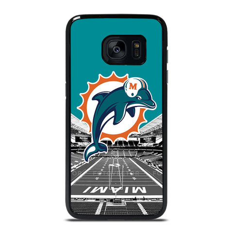 MIAMI DOLPHINS NFL FOOTBALL Samsung Galaxy S7 Edge Case Cover