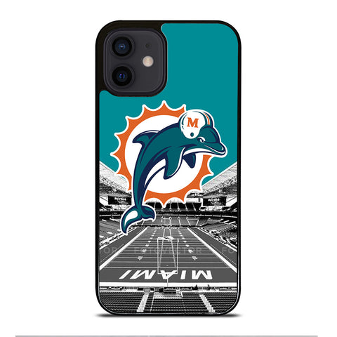 MIAMI DOLPHINS NFL FOOTBALL iPhone 12 Mini Case Cover