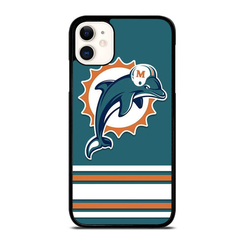 MIAMI DOLPHINS logo iPhone 11 Case Cover