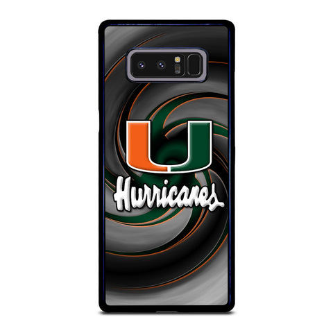 MIAMI HURRICANES ICON Samsung Galaxy Note 8 Case Cover