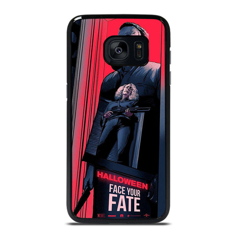MICHAEL MYERS HALLOWEEN  FACE YOUR FATE Samsung Galaxy S7 Edge Case Cover