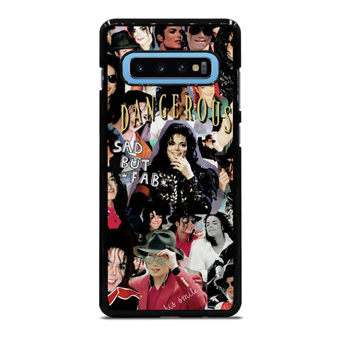 MICHAEL JACKSON COLLAGE Samsung Galaxy S10 Plus Case Cover