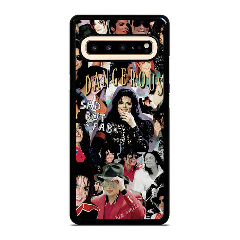 MICHAEL JACKSON COLLAGE Samsung Galaxy S10 5G Case Cover