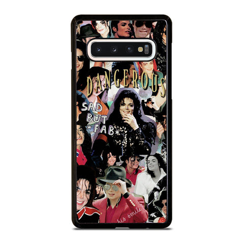 MICHAEL JACKSON COLLAGE Samsung Galaxy S10 Case Cover